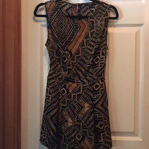 Forever 21 jumpsuit / great pattern